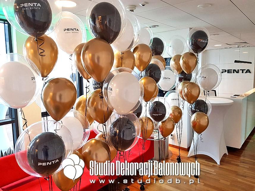 Bukiety balonowe jako dekoracja biura