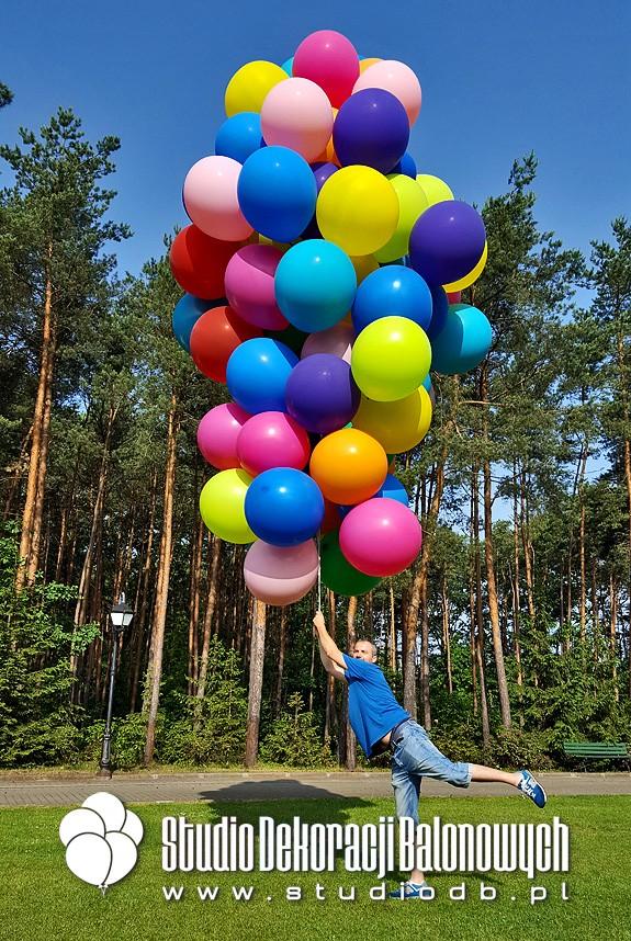 Bukiety balonowe z helem w dostawie ;)