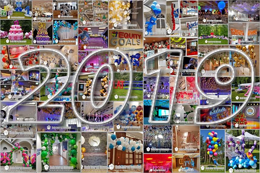 Studio Dekoracji Balonowych - Rok 2019