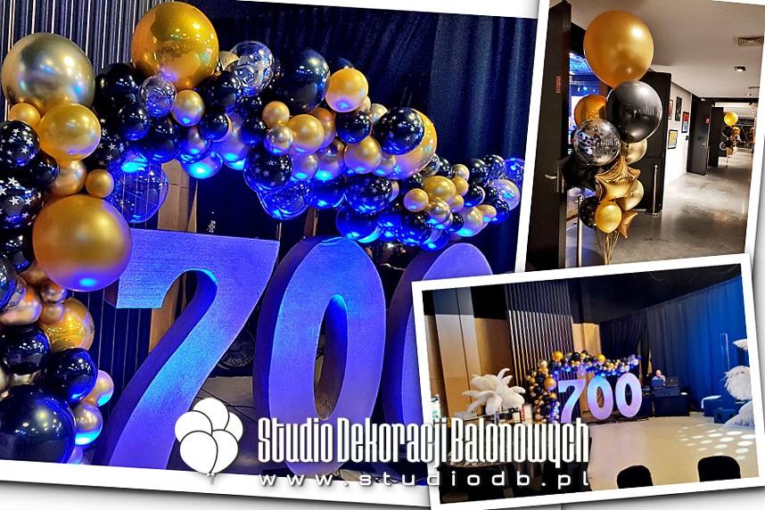 Dekoracje z balonów jako scenografia eventu firmowego