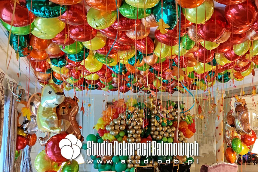 Dekoracje balonowe na urodziny w temacie