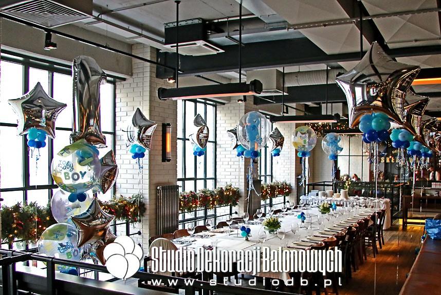 Urodzinowa dekoracja z balonów