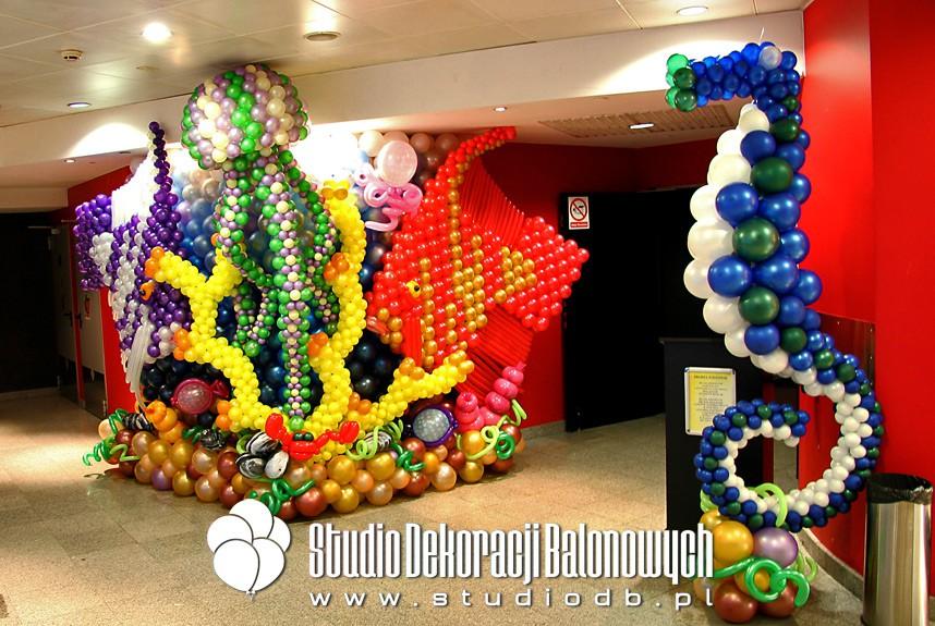 Dekoracje balonowe w temacie