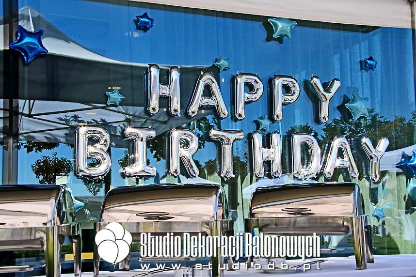 Dekoracje urodzinowe i jubileuszowe