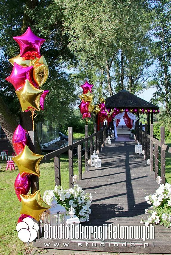 Balony foliowe jako dekoracja imprezy plenerowej